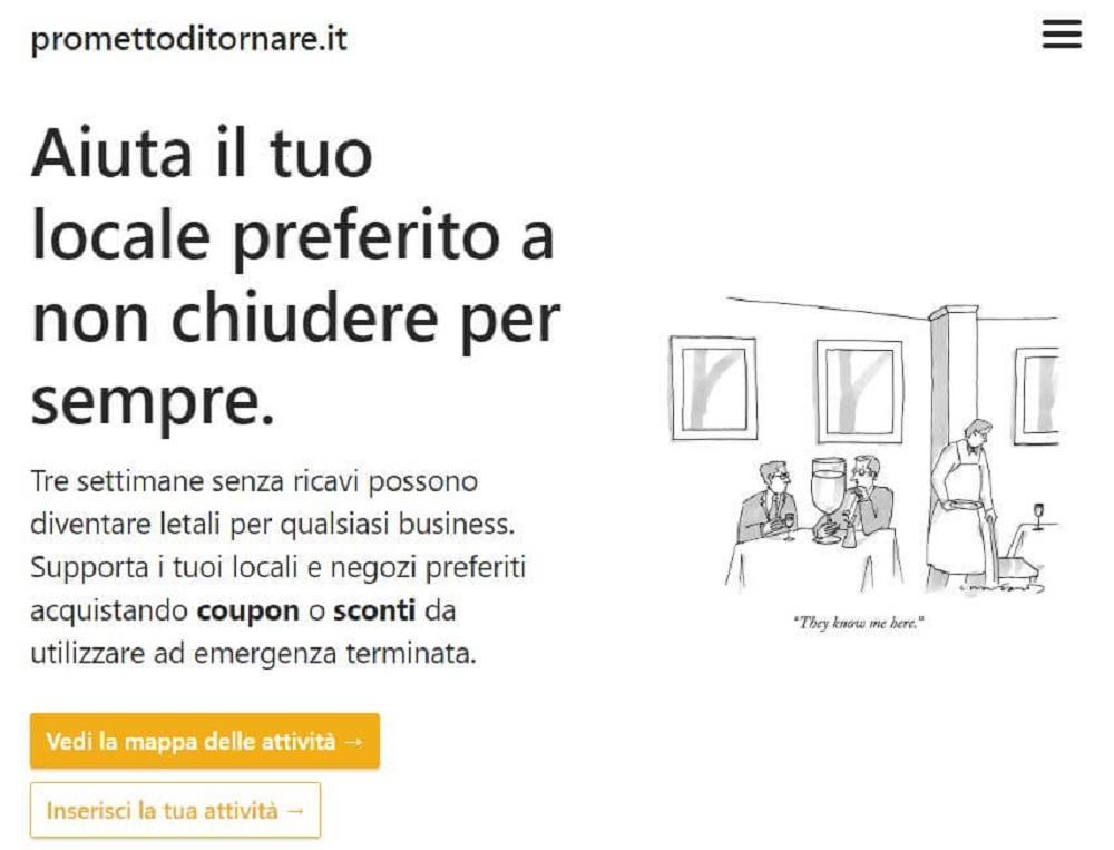 Promettoditornare.it