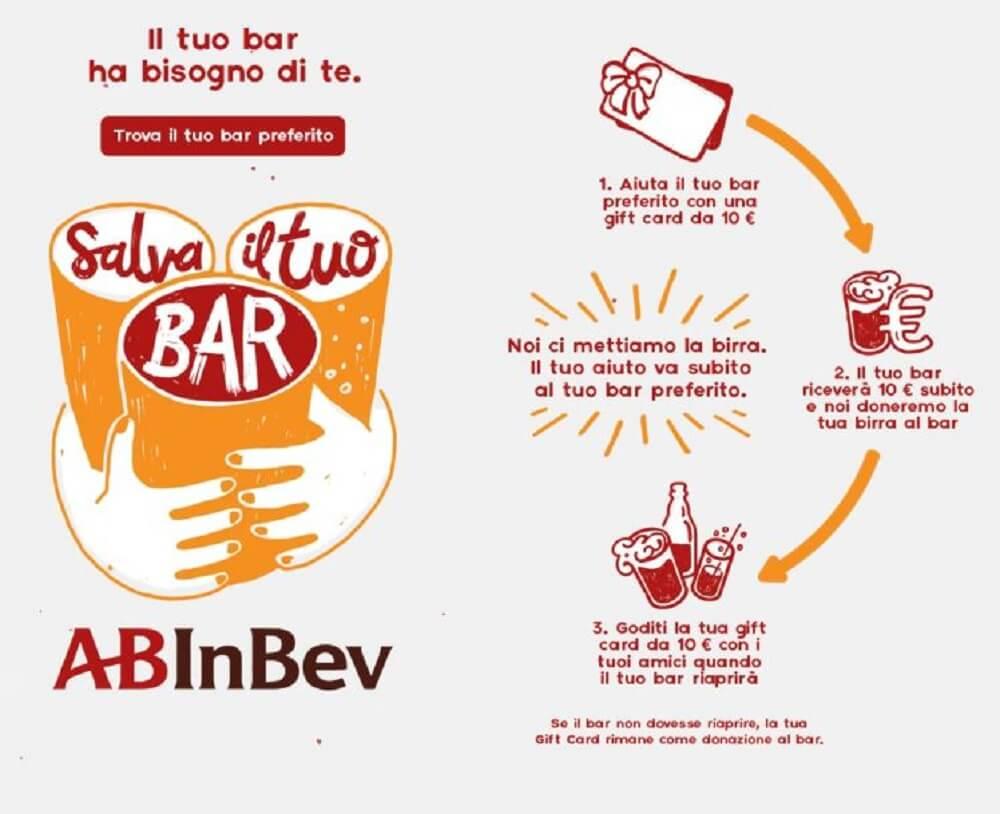 Salva il tuo bar