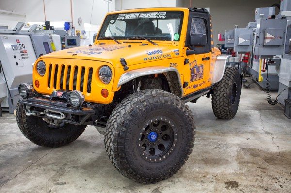 Jeep, meet CNCs -- Spidertrax HQ