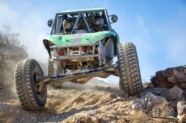 Down the Ridgeline -- 2013 King of the Hammers