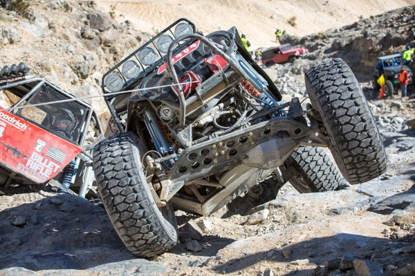 Winching, With Style -- 2013 King of the Hammers