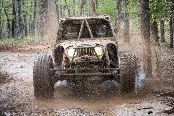 It Rains Mud in Hot Springs -- 2014 Genright Ultra4s at Superlif