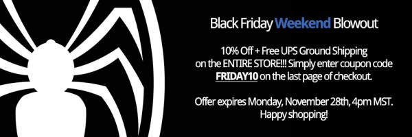 2015 Black Friday Weekend Blowout!
