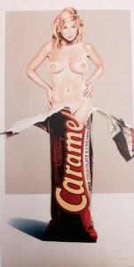 Caramia Caramello, 2007, 114 x 70 cm