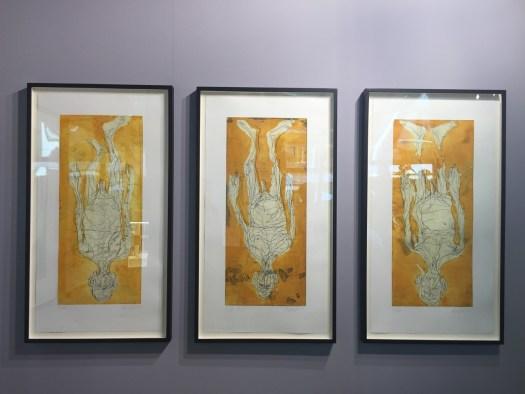 Ohne Hosen in Avignon: Eine Suite von sechs herausragenden Georg Baselitz Kaltnadelradierungen auf 100 x 40 cm. Auflage je 10 Exemplare für  5800 EUR ein langfristiges Anlageinvestment