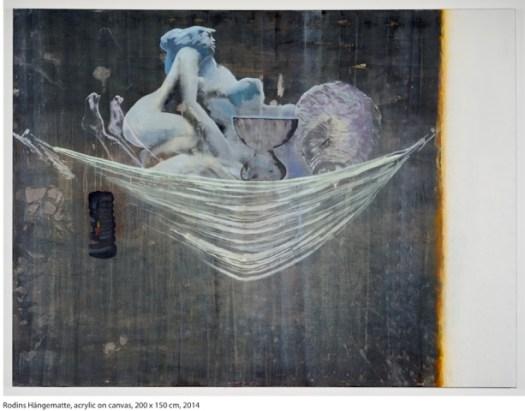 Liehr_Markus_Rodins Haengematte_150 x 200 cm