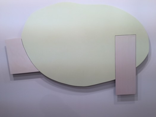 Imi Knoebel Bild 07.07.2015 in Acryl auf Aluminium, 120 x 186 x 4,5 cm, 128 TEUR bei Galerie Nächst St. Stephan