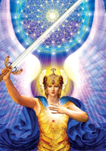 Qu Est Ce Qu Un Archange : archange, L'Archange, Mickaël, Lumière, Hautement, évolué