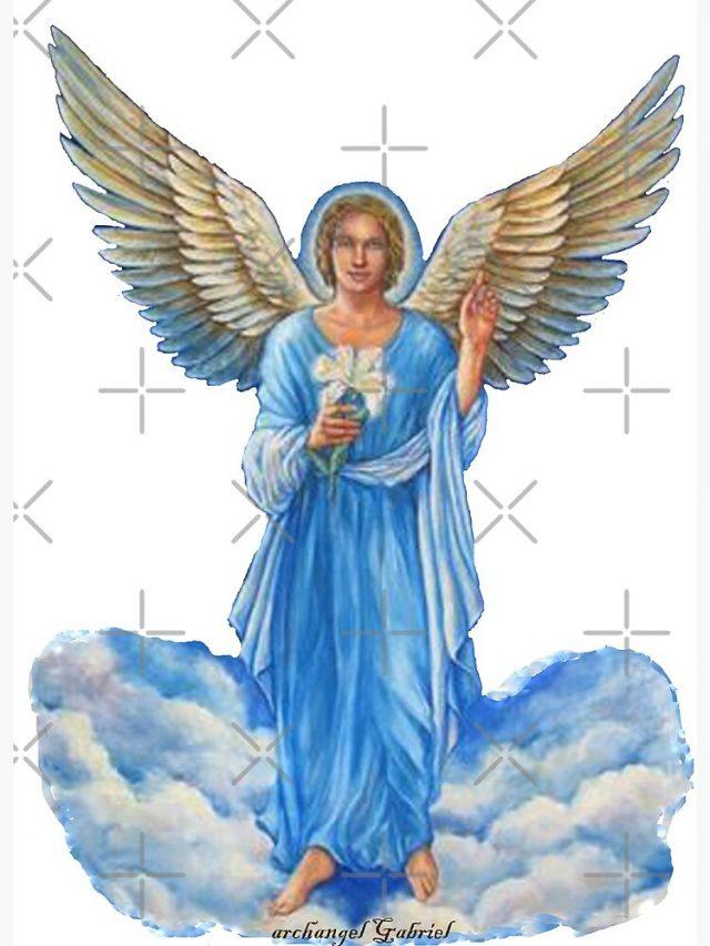 Qu Est Ce Qu Un Archange : archange, L'archange, Gabriel, Spiriteo