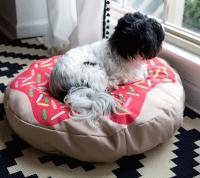 DIY Doughnut Dog Bed | Spoonflower Blog