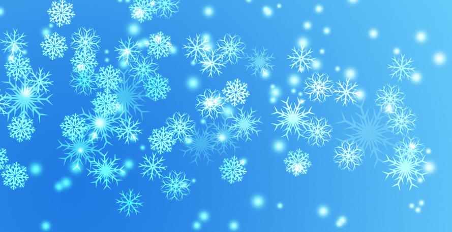 8 free snowflake vectors