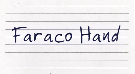 Faraco Hand font
