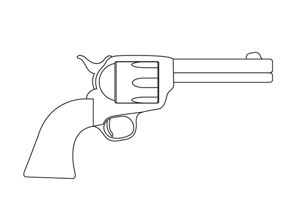 How To Create a Textured Vector Revolver Illustration