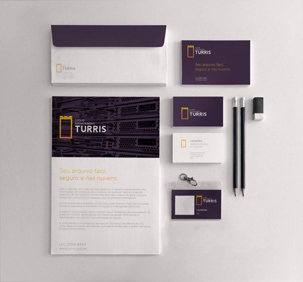 Turris Branding by Manoel Andreis Fernandes