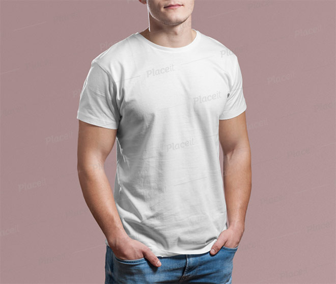 Download Mockup Kaos Polos Putih Hd Yellowimages
