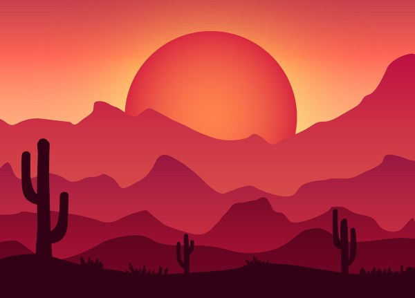 Create Colorful Vector Landscape Illustration
