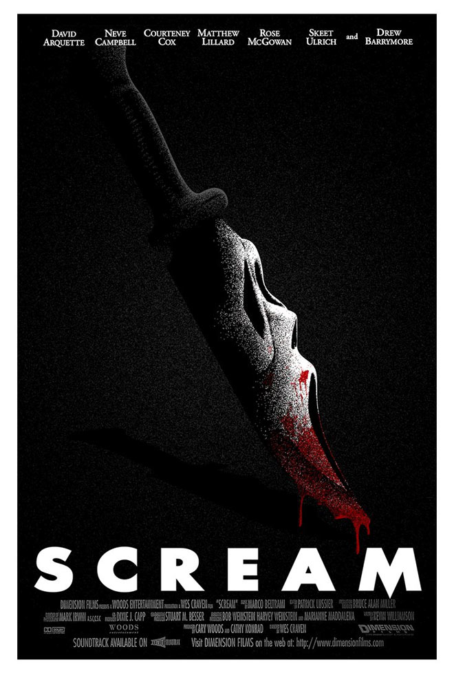 Scream Poster Remade by SamRAW08