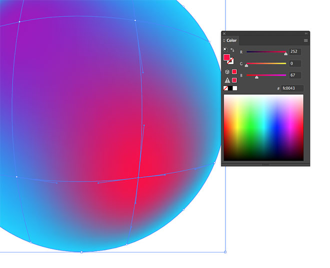 how to add color to gradient in illustrator