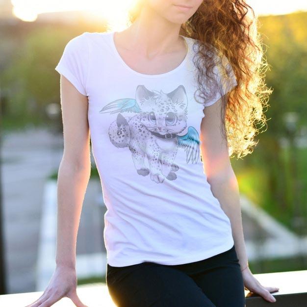T-shirt mock up design Free Psd