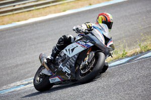 Chris Ulrich on the 2018 BMW HP4 Race
