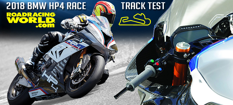 Roadracing World 2018 BMW HP4 Race Test