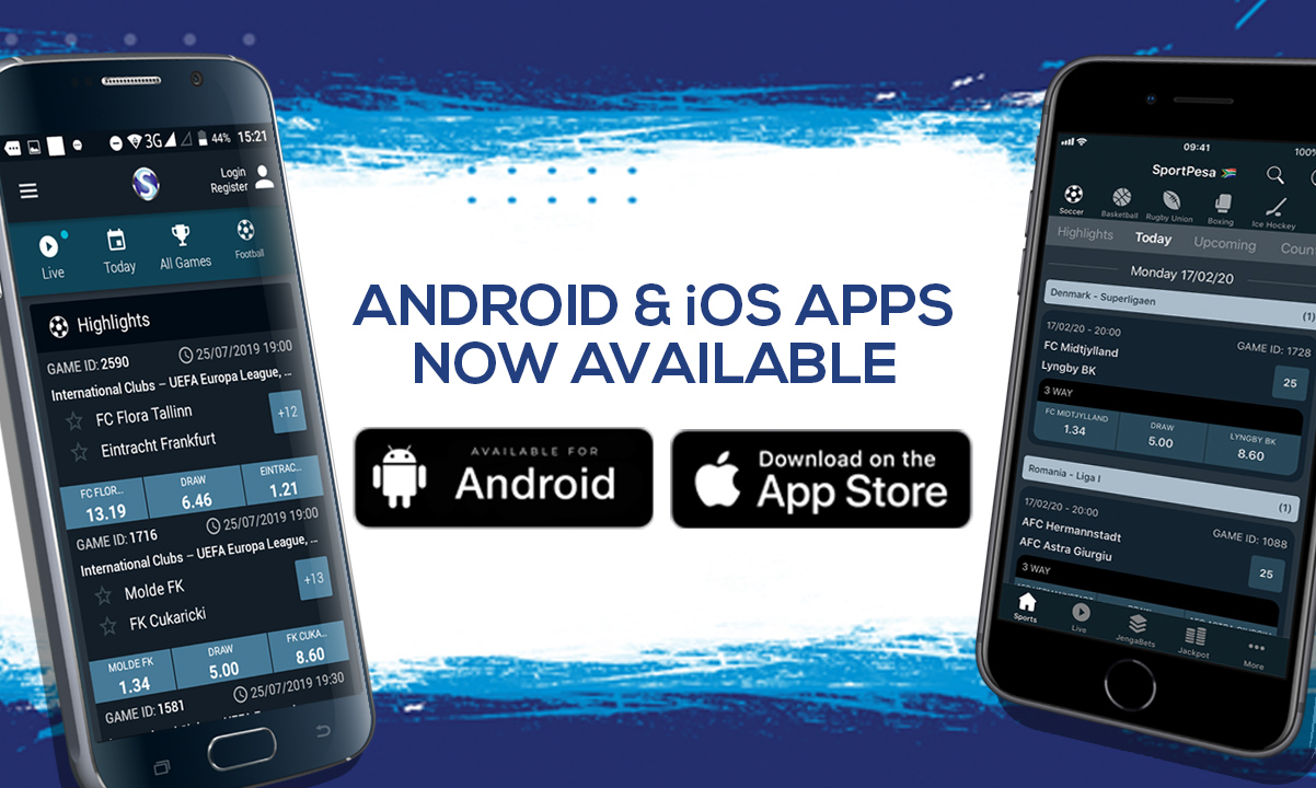 SportPesa Android and iOS Apps