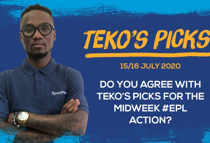 Teko's Picks - 15 & 16 July