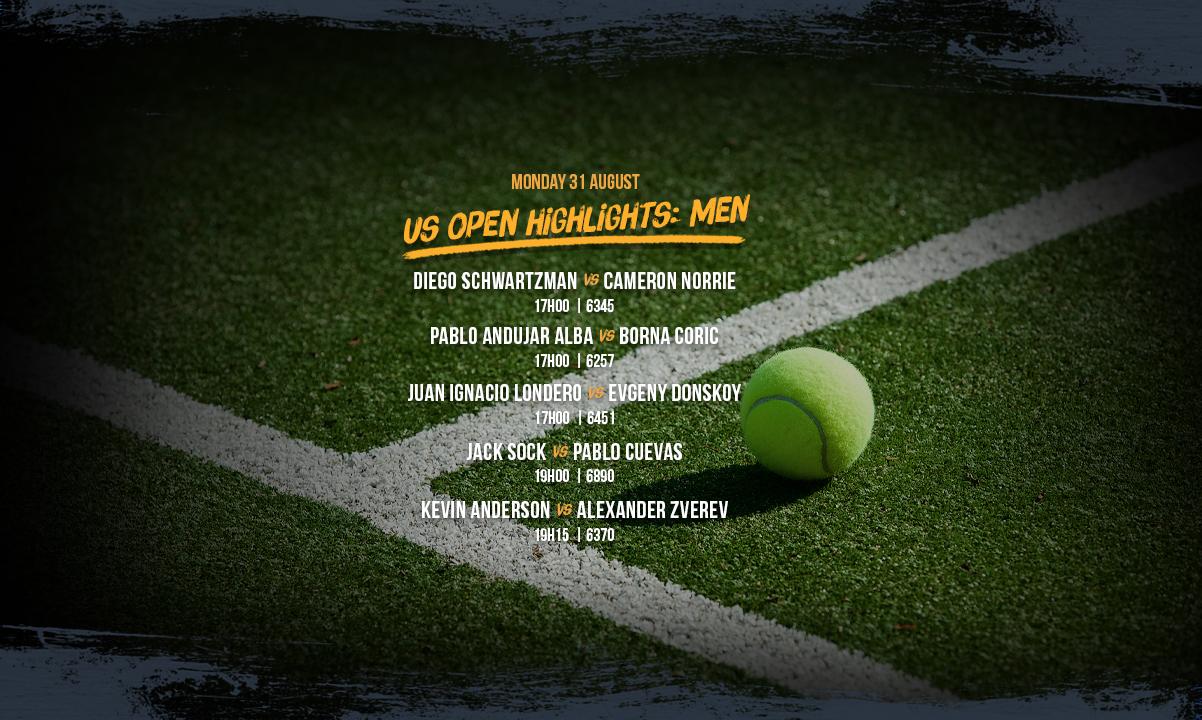 US Open Men