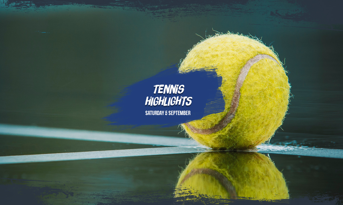 US Open Highlights 5 September