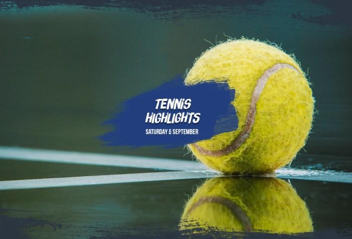 US Open Highlights 5 September