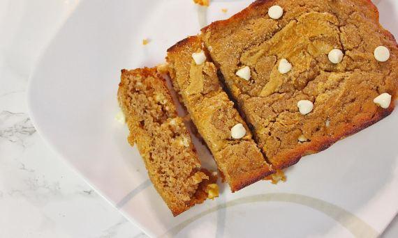 protein-coconut-banana-bread