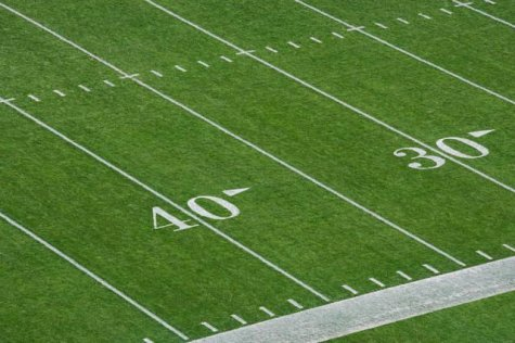 Football Gridiron Yard Lines