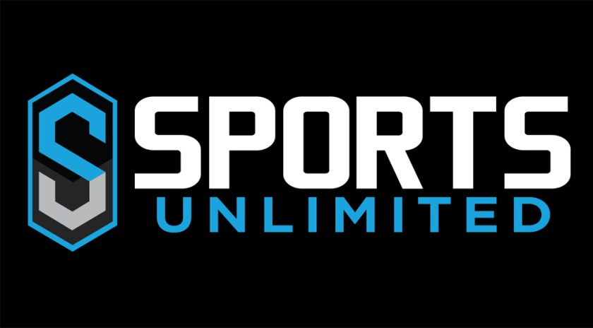 Sports Unlimited Logo On Black