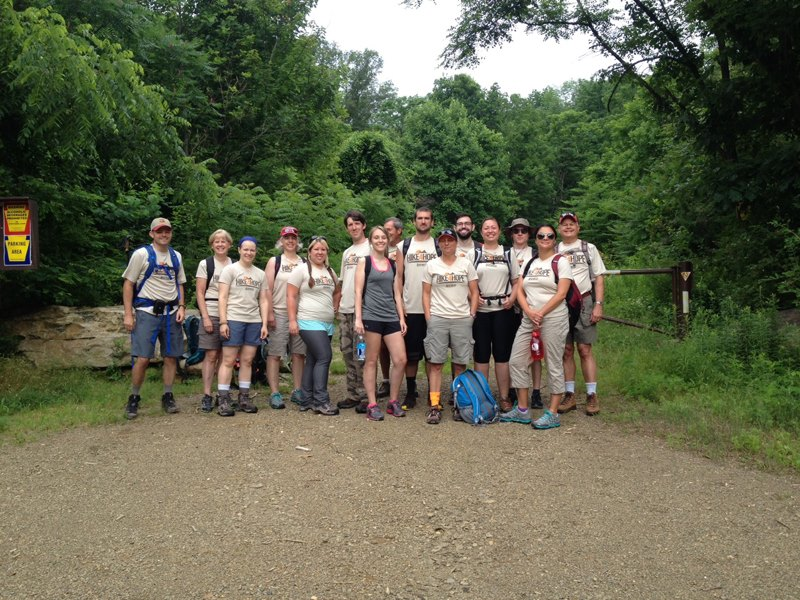 Sports Unlimited Group Picture Hike
