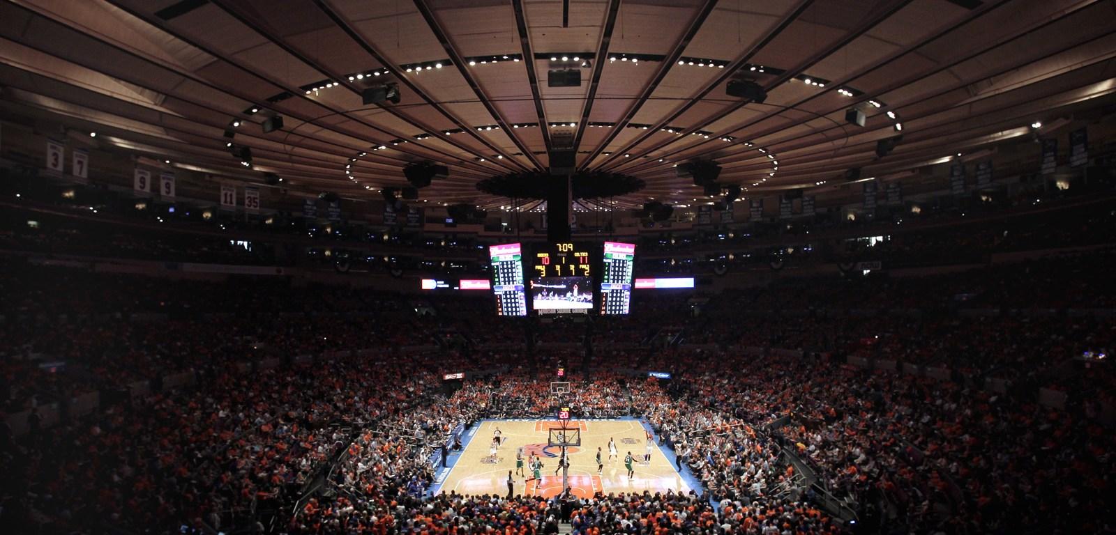 NBA Basketball preseason in NY