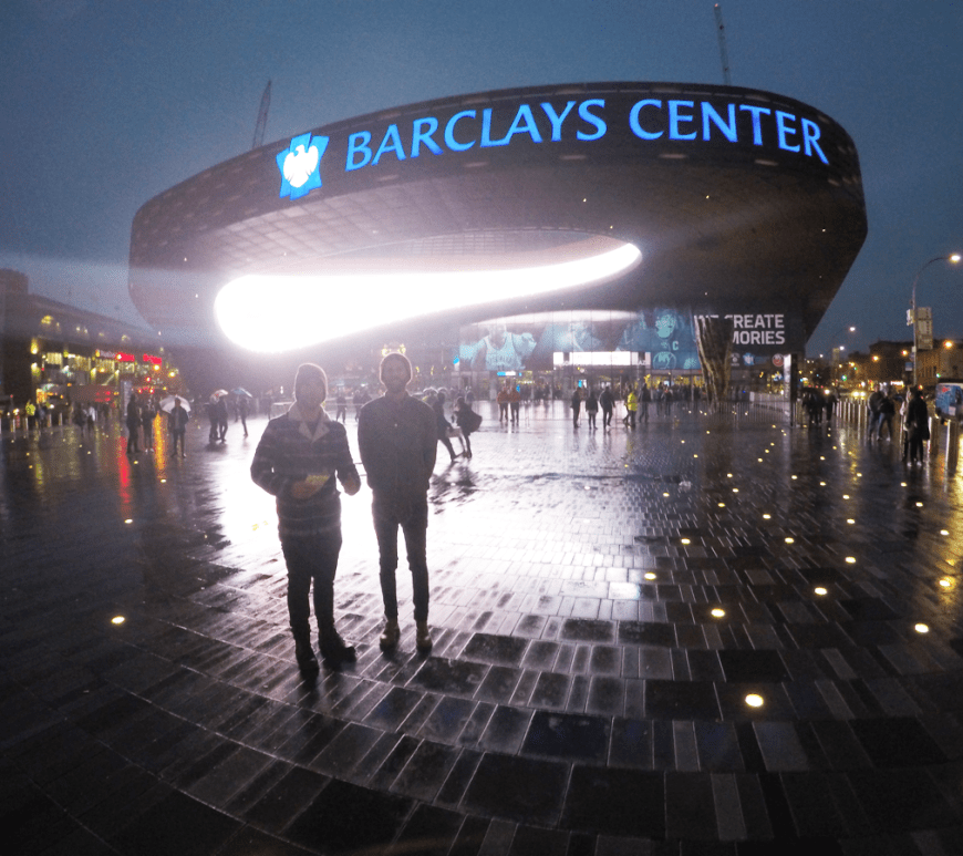 NBA Basketball preseason in NY