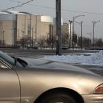 united center parking Warren and Hoyne street