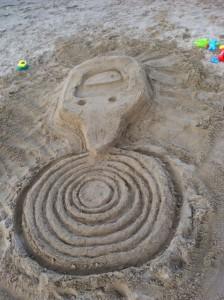 SpotHero Sand Logo