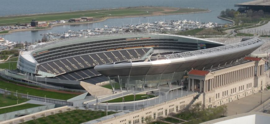 soldier field parking