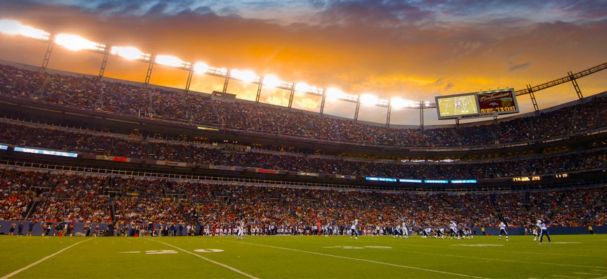 sports authority field parking