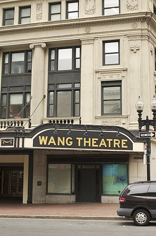 Wang Theater parking
