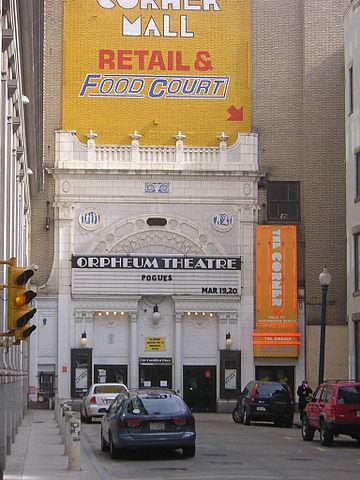 Boston Orpheum Theater parking