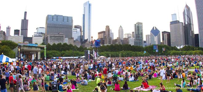 Taste of Chicago - Music Shell