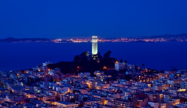 coit tower parking