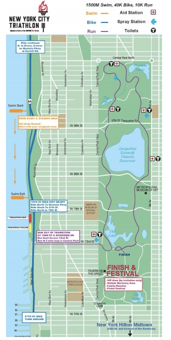 The Ultimate Guide to NYC Triathlon Parking, Maps & More