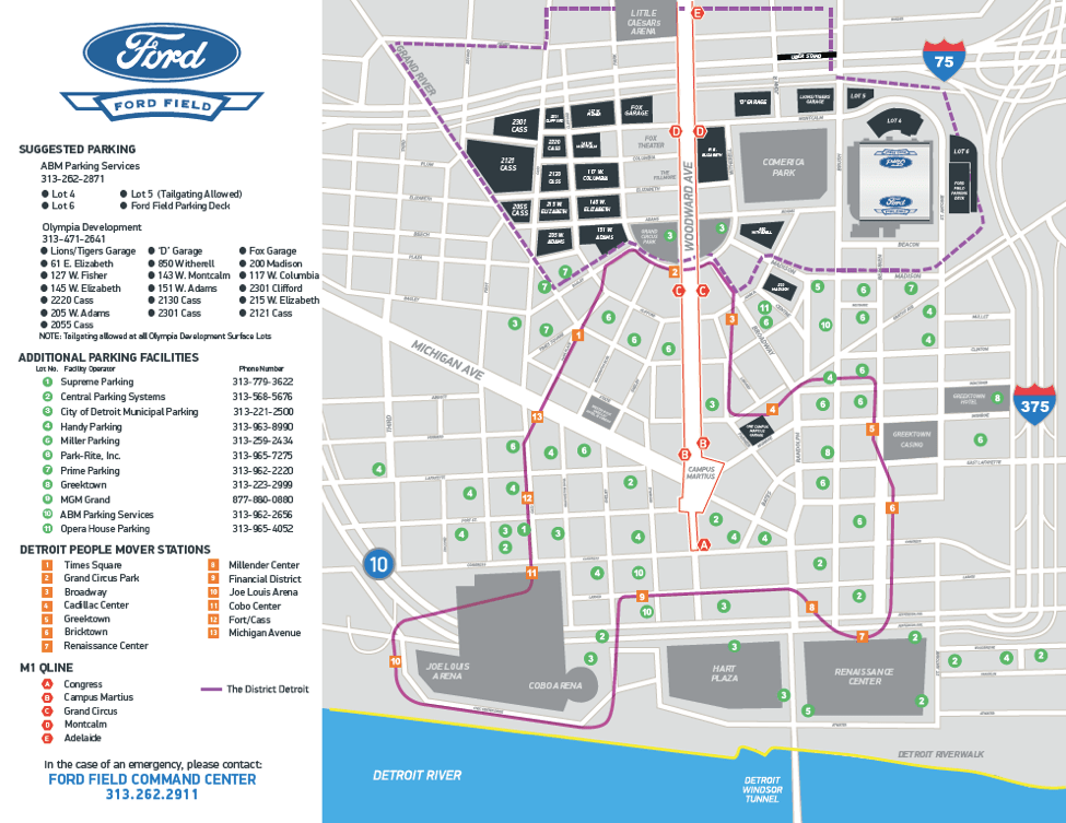 Lions Parking: Your Guide to Ford Field Parking   Tips