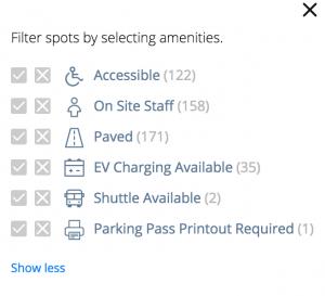 spot amenities