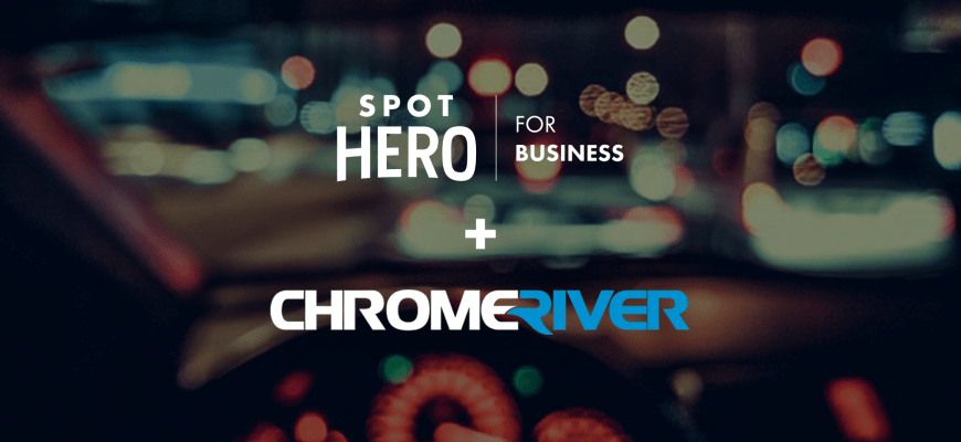 SpotHero for Business and Chrome River