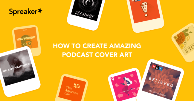 how to make podcast cover art