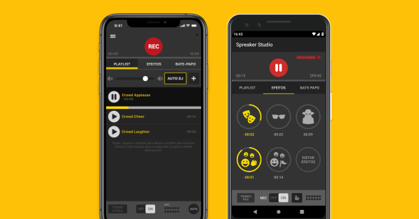 Spreaker Studio Brazilian version